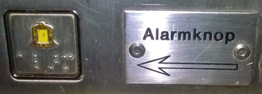 Alarmknopbordje