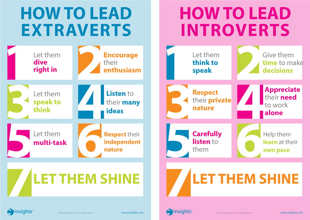 How-to-lead extraverts and Introverts