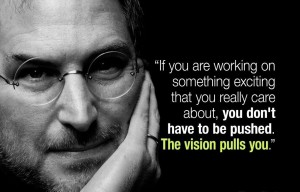 Steve Jobs and vision
